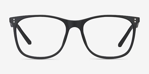 Mystery Black Plastic Eyeglass Frames