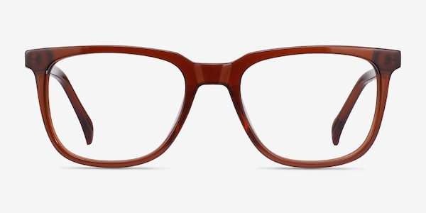 Girona Brown Acetate Eyeglass Frames