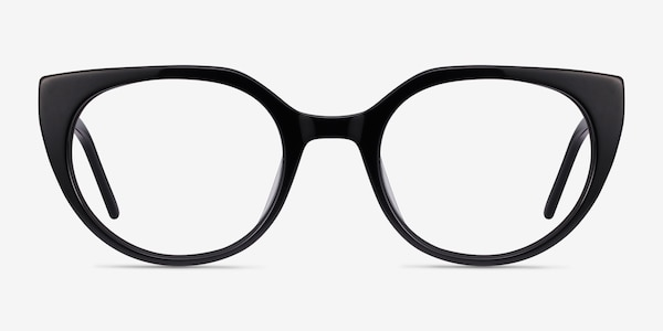 Rhyme Black Acetate Eyeglass Frames
