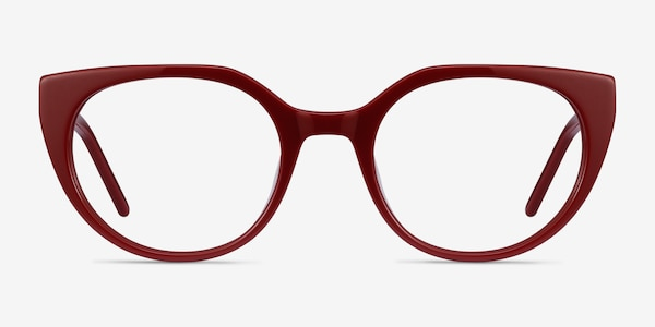 Rhyme Burgundy Acetate Eyeglass Frames