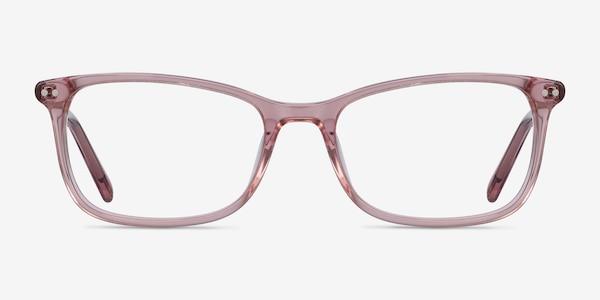 Alette Clear Pink Acetate Eyeglass Frames