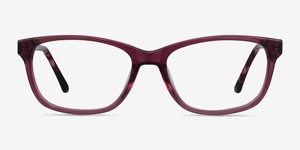 Ayla Purple Acetate Eyeglass Frames