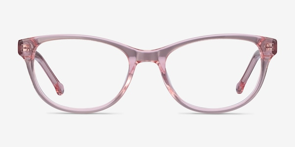Thinker Clear Pink Acetate Eyeglass Frames