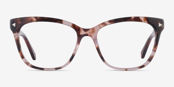 Petal Pink Tortoise Acetate Eyeglass Frames