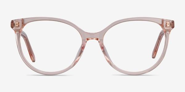 Nala Clear Pink Acetate Eyeglass Frames