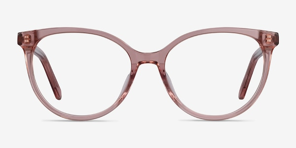 Nala Clear Purple Acetate Eyeglass Frames