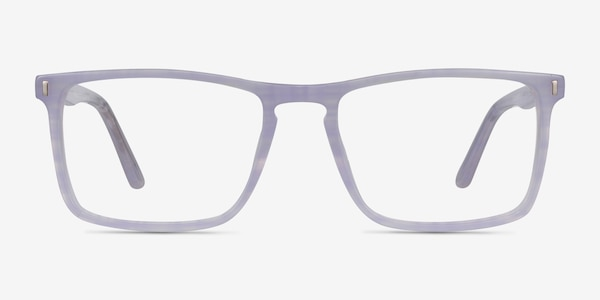 Arise Purple Striped Acetate Eyeglass Frames