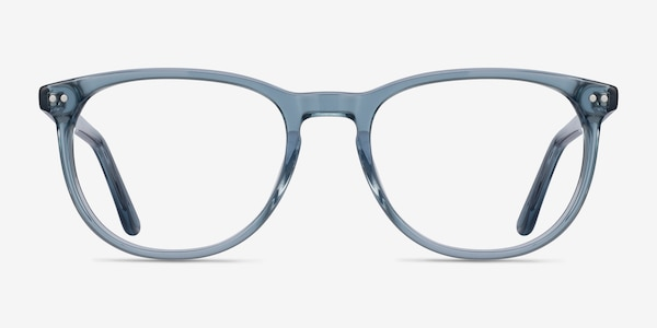 Cherbourg Clear Blue Acetate Eyeglass Frames