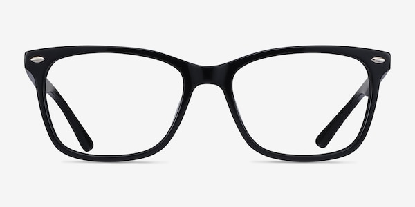 Varda Black Acetate Eyeglass Frames