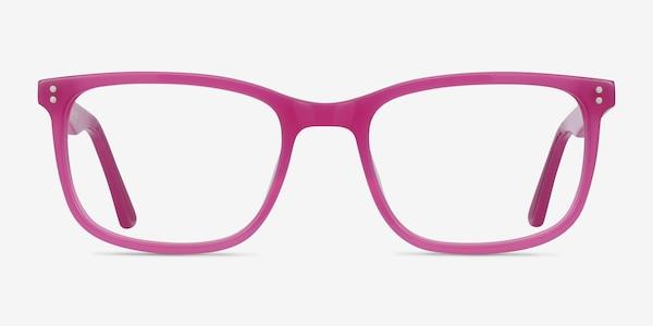 Lugano Fuchsia Pink Acetate Eyeglass Frames