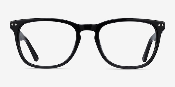 Gato Black Acetate Eyeglass Frames