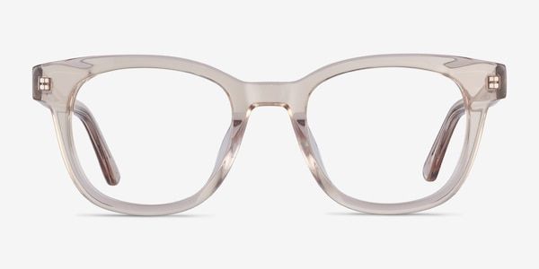 Lighthouse Champagne Acetate Eyeglass Frames