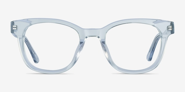 Lighthouse Clear Blue Acetate Eyeglass Frames