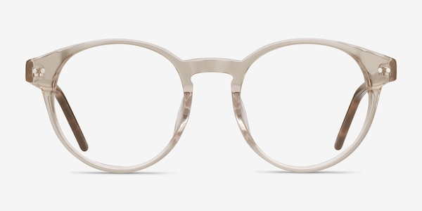 Manara Champagne Acetate Eyeglass Frames