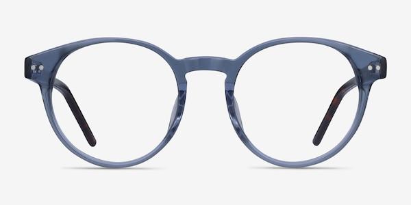 Manara Blue Gray Acétate Montures de Lunette de vue