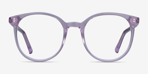 Noun Purple Acetate Eyeglass Frames
