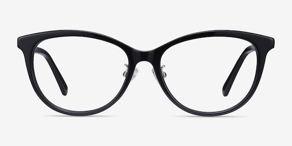 Helena Black Acetate Eyeglass Frames