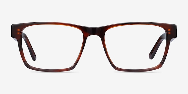 Reyes Brown Acetate Eyeglass Frames