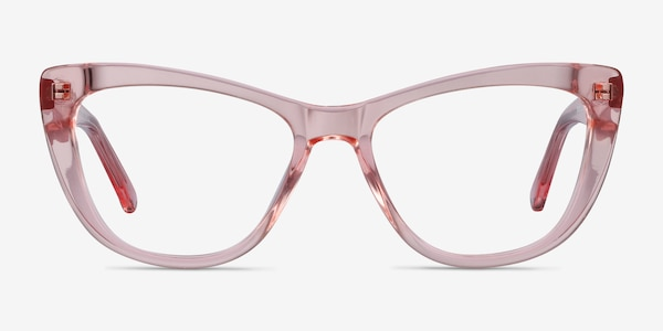 Little Charlotte Pink Acetate Eyeglass Frames