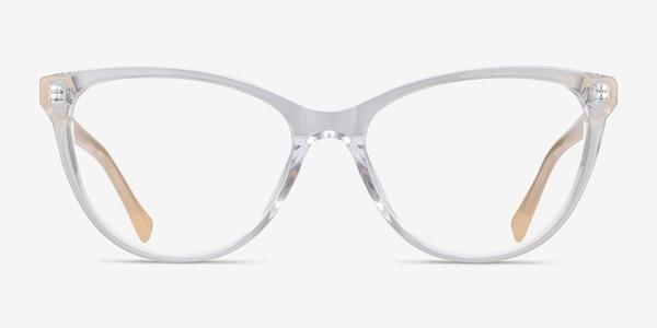 Sing Clear Yellow Acetate Eyeglass Frames