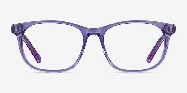 Steps Purple Acetate Eyeglass Frames
