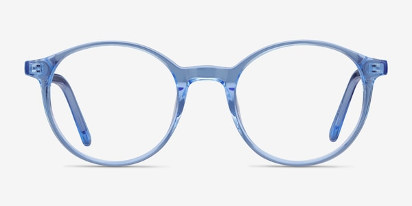 Excel Blue Acetate Eyeglass Frames