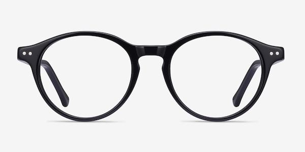 Magic Black Acetate Eyeglass Frames