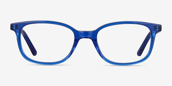 Leap Blue Acetate Eyeglass Frames