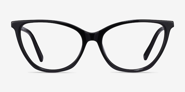 Instinct Black Acetate Eyeglass Frames