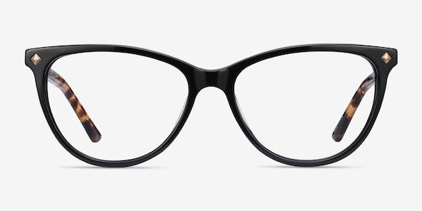 Leonie Black Tortoise Acetate Eyeglass Frames