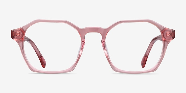 Orchid Clear Pink Acetate Eyeglass Frames