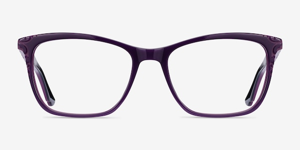 Hedera Purple Acetate Eyeglass Frames
