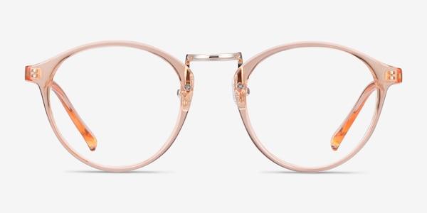 Chillax Clear Melon Plastic Eyeglass Frames
