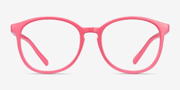 Dutchess Neon Pink Plastic Eyeglass Frames