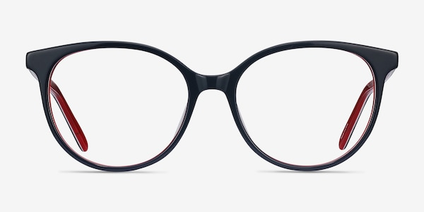 Patriot Navy & Red Acetate Eyeglass Frames