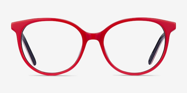 Patriot Red & Navy Acetate Eyeglass Frames