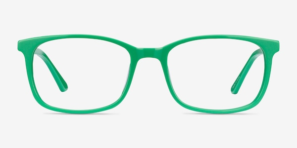 Equality Green Acetate Eyeglass Frames