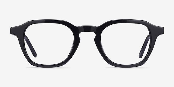 Victor Black Acetate Eyeglass Frames