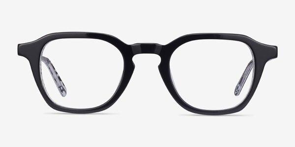 Victor Black & Zebra Acetate Eyeglass Frames