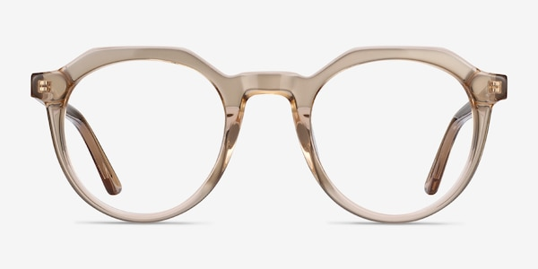 Mikoto Light Brown Acetate Eyeglass Frames