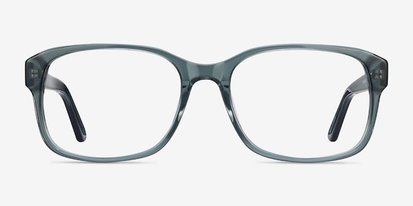 Tobias Clear Gray Acetate Eyeglass Frames