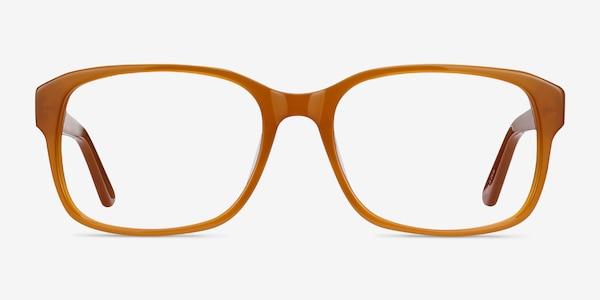 Tobias Mellow Yellow Acetate Eyeglass Frames