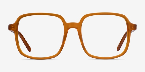 Gaston Mellow Yellow Acetate Eyeglass Frames
