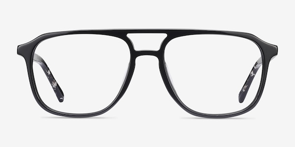 Effect Black Acetate Eyeglass Frames