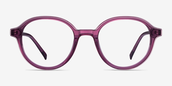Satisfy Cassis Acetate Eyeglass Frames