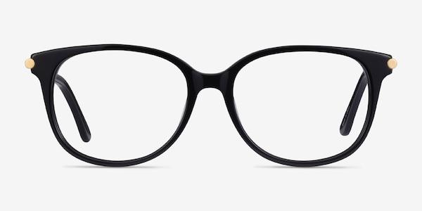Jasmine Black Acetate Eyeglass Frames