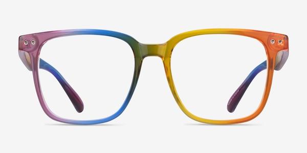 Freedom Rainbow Plastic Eyeglass Frames