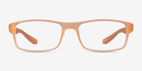 Over Light Orange Plastique Montures de Lunette de vue