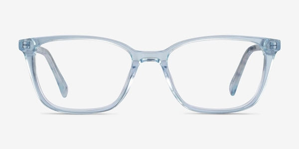 Cheesecake Clear Blue Acetate Eyeglass Frames