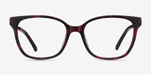 Miracle Red Tortoise  Black Acétate Montures de Lunette de vue